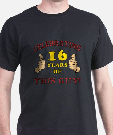 Funny 16th Birthday For Boys T-Shirt