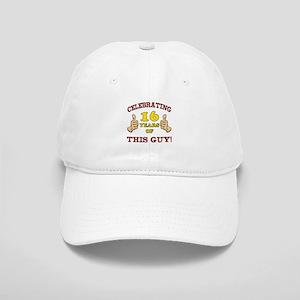 Funny 16th Birthday For Boys Cap
