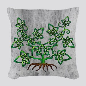 Ivy Woven Throw Pillow