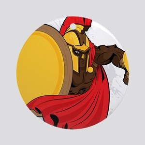 Sparta - Warrior - Spartan Ornament (Round)