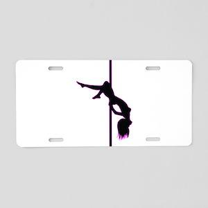 Stripper - Strip Club - Pole Dancer Aluminum Licen