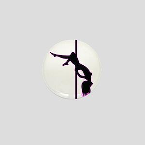 Stripper - Strip Club - Pole Dancer Mini Button