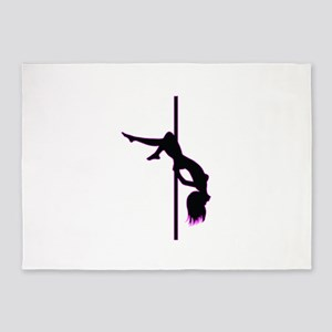Stripper - Strip Club - Pole Dancer 5'x7'Area Rug