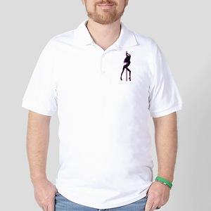 Stripper - Strip Club - Pole Dancer Golf Shirt