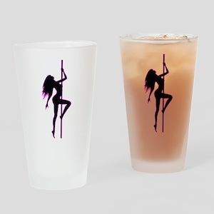 Stripper - Strip Club - Pole Dancer Drinking Glass