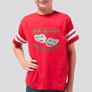10x10_no_greediest Youth Football Shirt