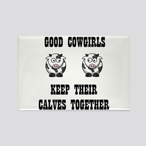 Good Cowgirls Rectangle Magnet (10 pack)