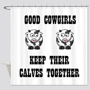 Good Cowgirls Shower Curtain