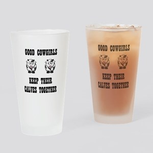 Good Cowgirls Drinking Glass