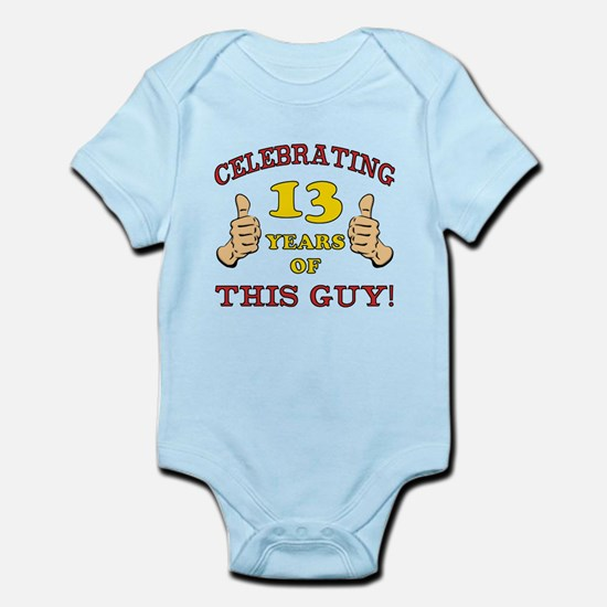 Funny 13th Birthday For Boys Infant Bodysuit