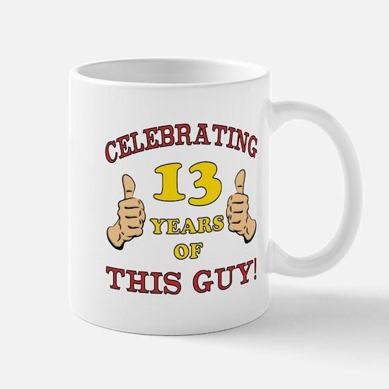 Funny 13th Birthday For Boys Mug