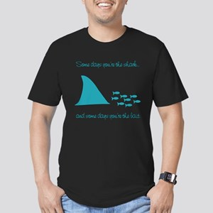 Some Days Youre the Shark Men's Fitted T-Shirt (da