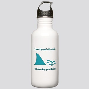 Some Days Youre the Shark Stainless Water Bottle 1