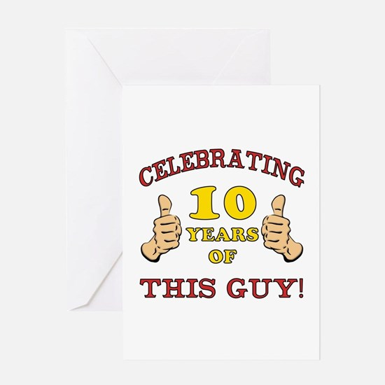 10 year old boy stationery cards invitations greeting cards more funny 10th birthday for boys greeting card bookmarktalkfo Images