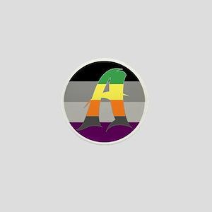 Aromantic Asexual #1 Mini Button