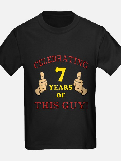 Funny 7th Birthday For Boys T