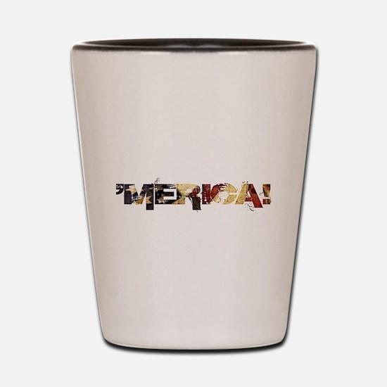 'Merica! Shot Glass