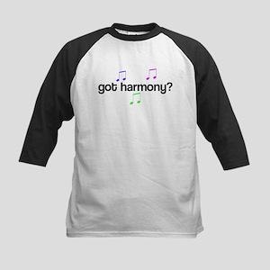 Got Harmony? Kids Baseball Jersey