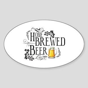 Home Brewed Beer Sticker