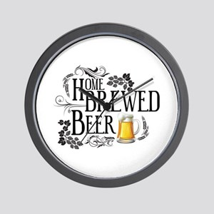 Home Brewed Beer Wall Clock