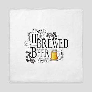 Home Brewed Beer Queen Duvet