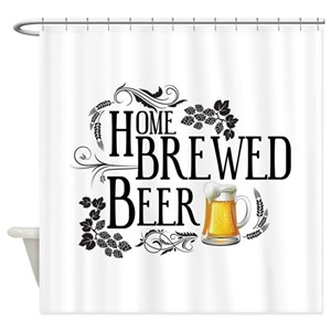 Craft Beer Shower Curtains