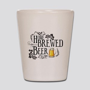 Home Brewed Beer Shot Glass