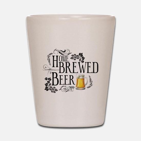 Home Brewed Beer Shot Glass