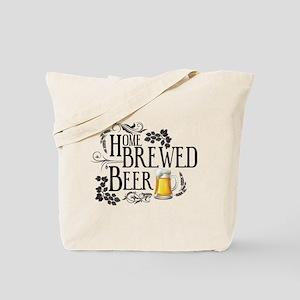 Home Brewed Beer Tote Bag