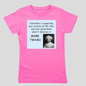 Mark Twain Quote Girl's Tee