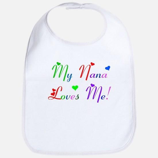 My Nana Loves Me (des. #2) Bib