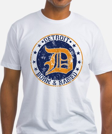 Detroit born and raised T-Shirt