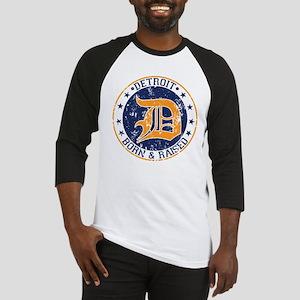 Detroit born and raised Baseball Jersey