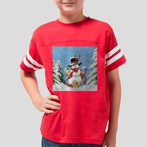 Snowman Youth Football Shirt