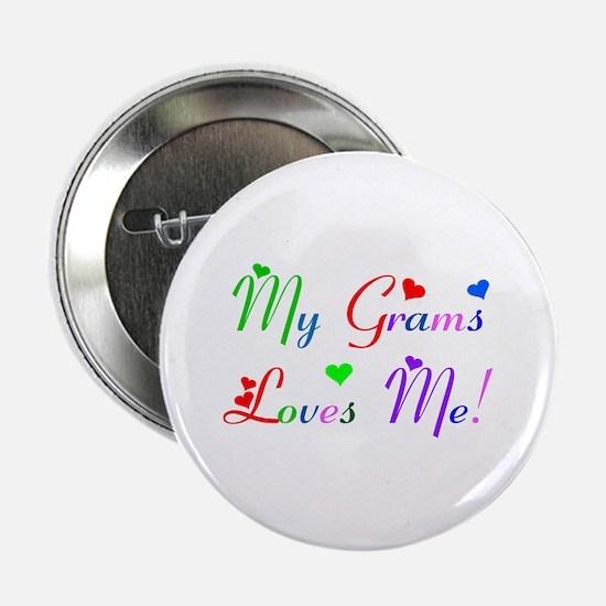 My Grams Loves Me (des. #2) Button