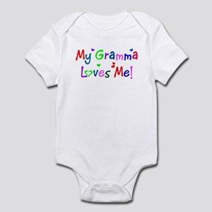 My Gramma Loves Me (des. #1) Infant Bodysuit