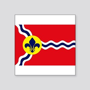 St. Louis Flag Rectangle Sticker