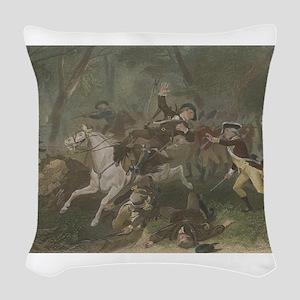 kings mountain Woven Throw Pillow