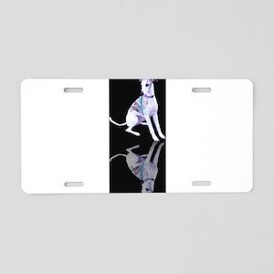 Whippet Reflection Aluminum License Plate