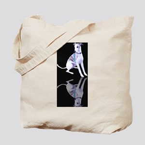 Whippet Reflection Tote Bag