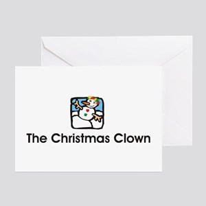 Christmas Clown Greeting Cards (Pk of 10)
