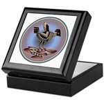 Mimbres Cream Quail Keepsake Box