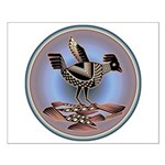 Mimbres Cream Quail Small Poster