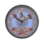 Mimbres Cream Quail Wall Clock