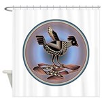 Mimbres Cream Quail Shower Curtain