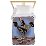 Mimbres Cream Quail Twin Duvet