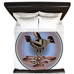 Mimbres Cream Quail King Duvet