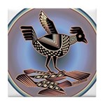 Mimbres Cream Quail Tile Coaster