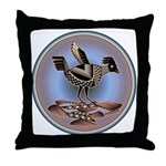 Mimbres Cream Quail Throw Pillow