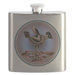 Mimbres Cream Quail Flask